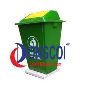 Thùng Rác Nhựa HDPE 60l Của Cơ Khí Đồng Côi