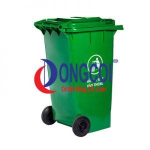 Thùng Rác Nhựa HDPE 90l Của Cơ Khí Đồng Côi