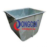 Thùng Xe Gom Rác Tôn, Inox 400l,500l giá rẻ tại Cơ Khí Đồng Côi.